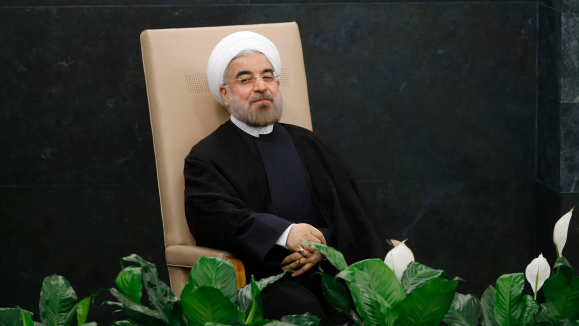 Iran's President Hassan Rouhani waits to address the 68th United Nations General Assembly at the U.N. headquarters in New York, Sep. 24, 2013. (Reuters)