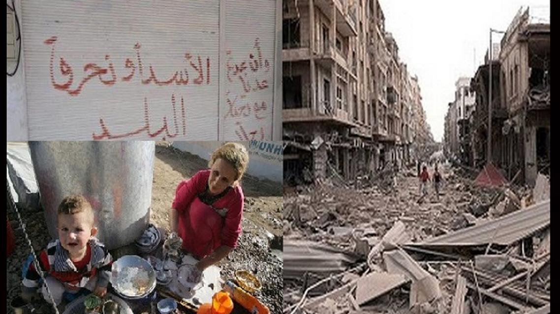 مأساة سوريا مستمرة كشعار النظام