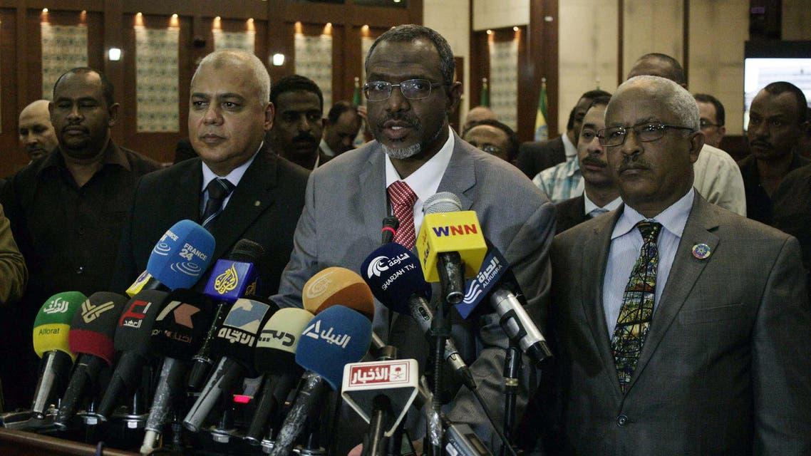 وزراء الموارد المائية بمصر والسودان وأثيوبيا