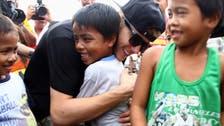 Justin Bieber visits Philippine typhoon victims
