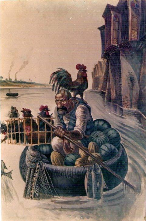 لوحة لطالب مكي
