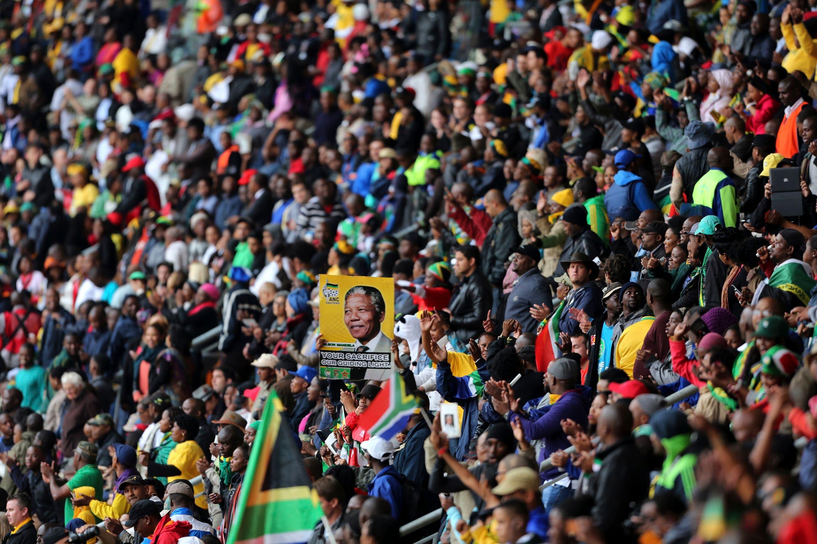 Mandela's memorial brings world leaders together