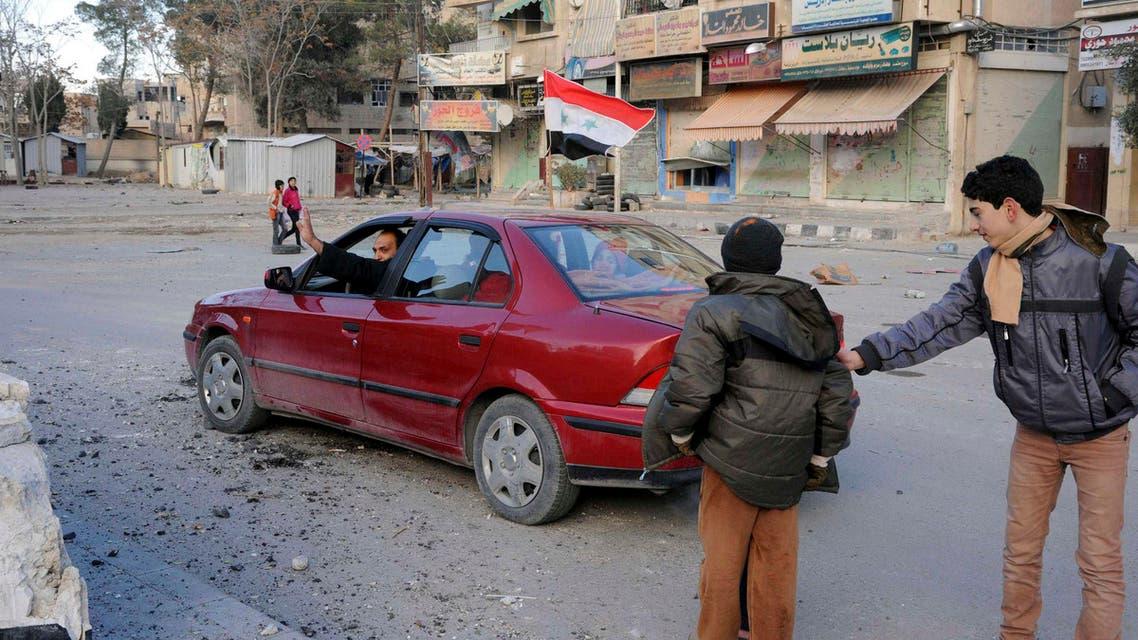 Reuters Syria Damascus