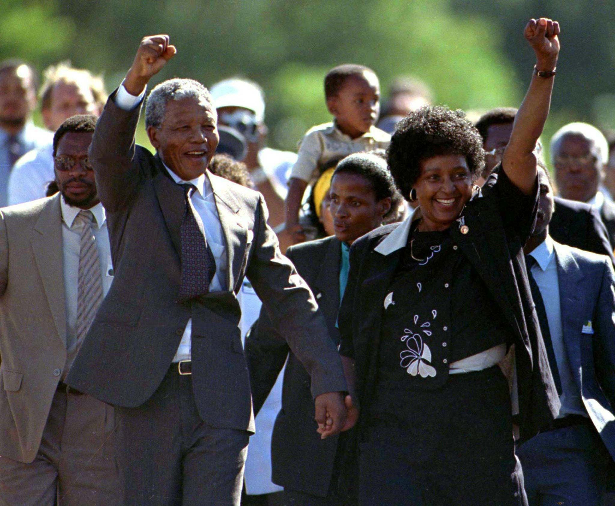 The life and times of Nelson Mandela