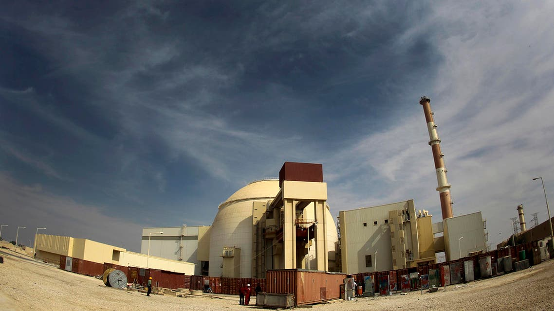 A general view of the Bushehr nuclear power plant, south of Tehran. (File photo: Reuters)