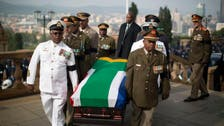 Mandela's body arrives for viewing in South Africa