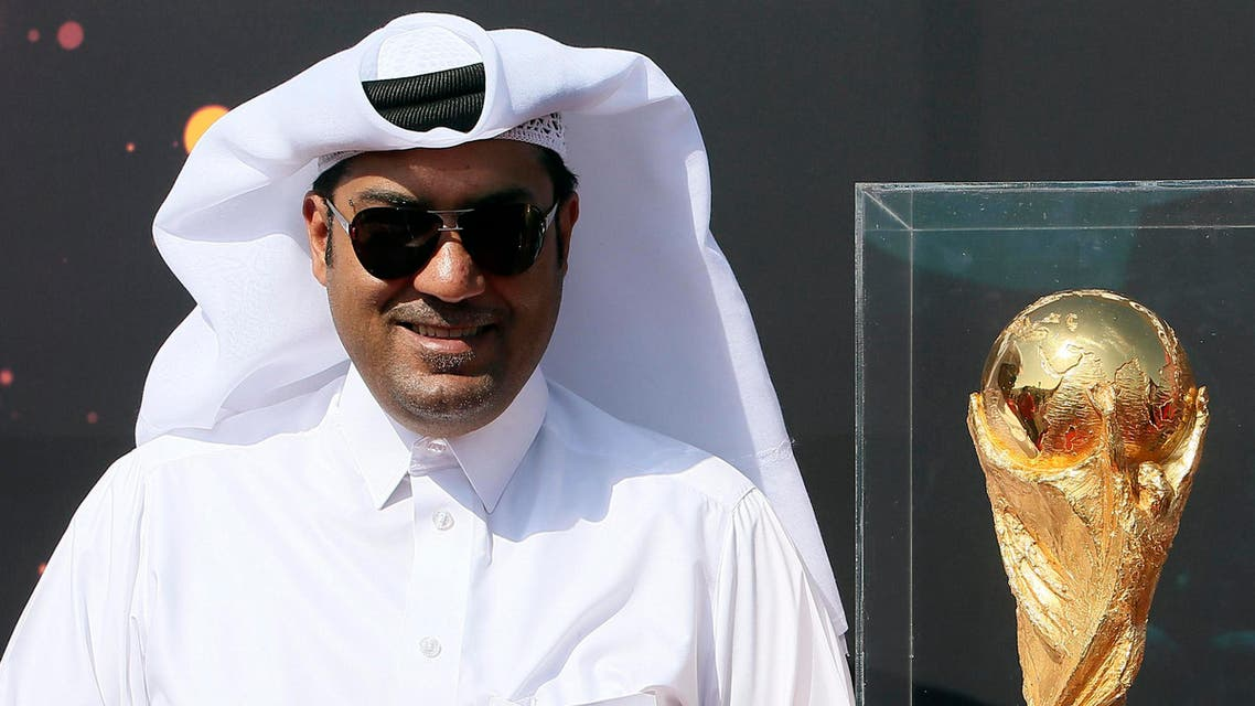 World Cup trophy lands Riyadh, Doha