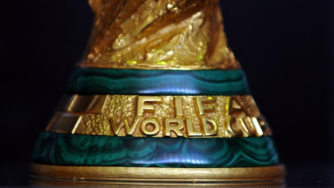 World Cup trophy lands inRiyadh, Doha