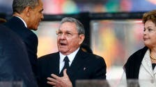 White house dismisses critics over Obama-Castro handshake