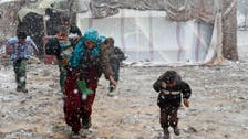 Syrians suffer amid winter storm