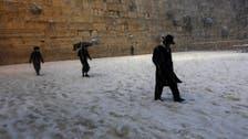 Rare heavy snowstorm blankets Jerusalem area