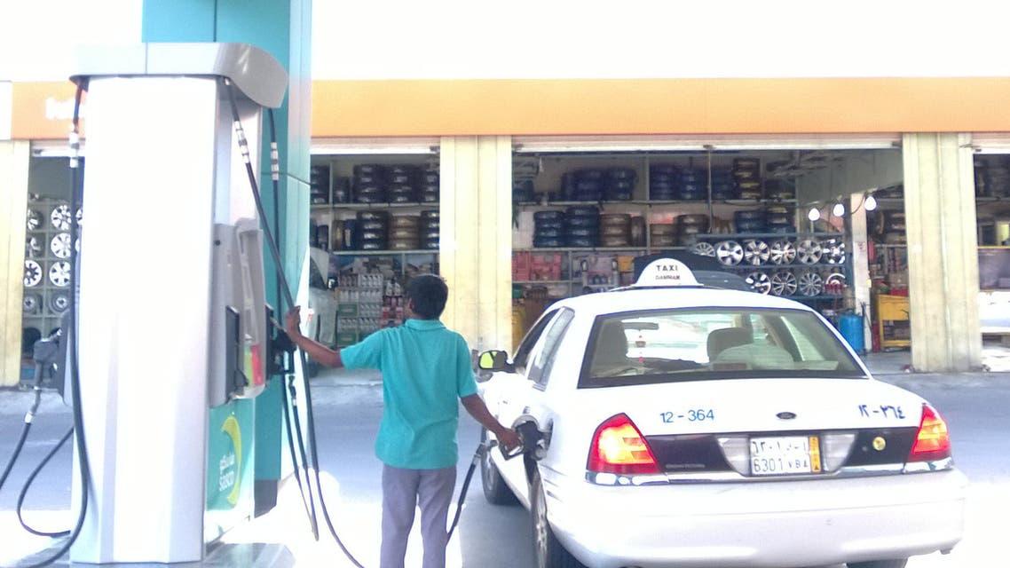 محطة وقود السعودية
