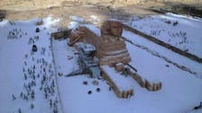 Sphinx and snowflakes: Twitter photo swirls flurry of interest