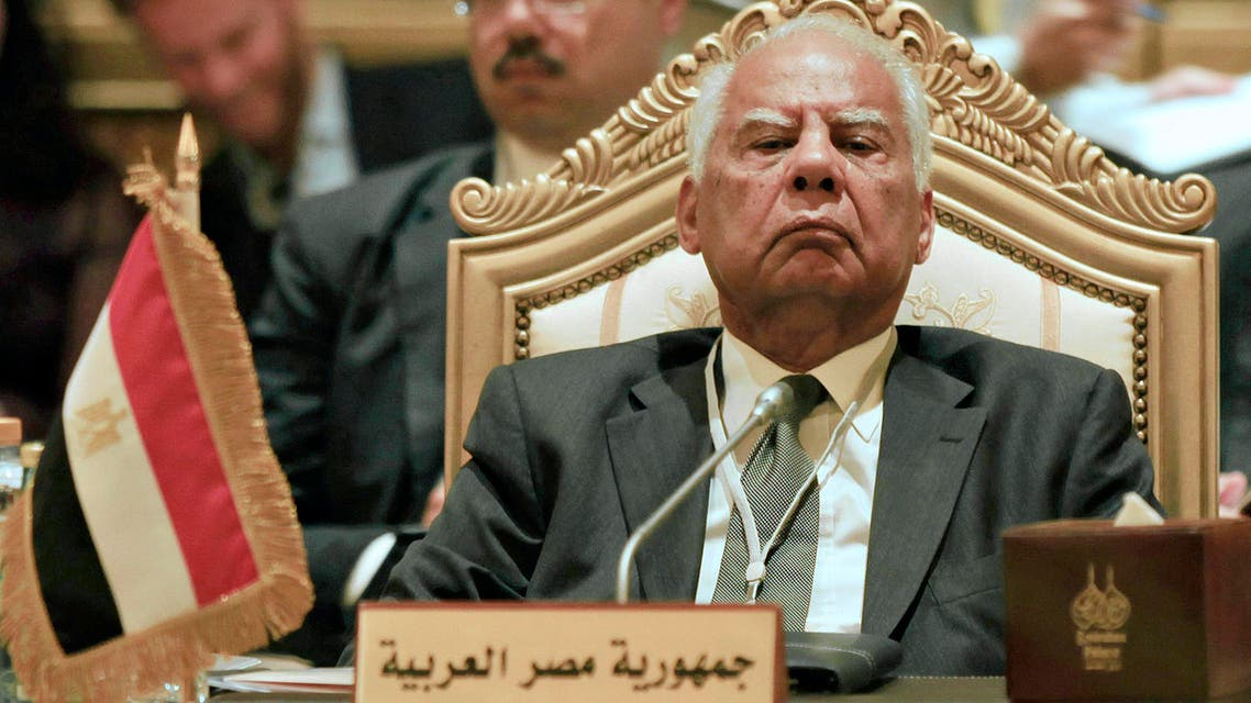Interim PM Hazem el-Beblawi, pictured during his previous role as finance minister, voiced cautious concerns on Egypt's upcoming constitutional referendum. (File photo: Reuters)