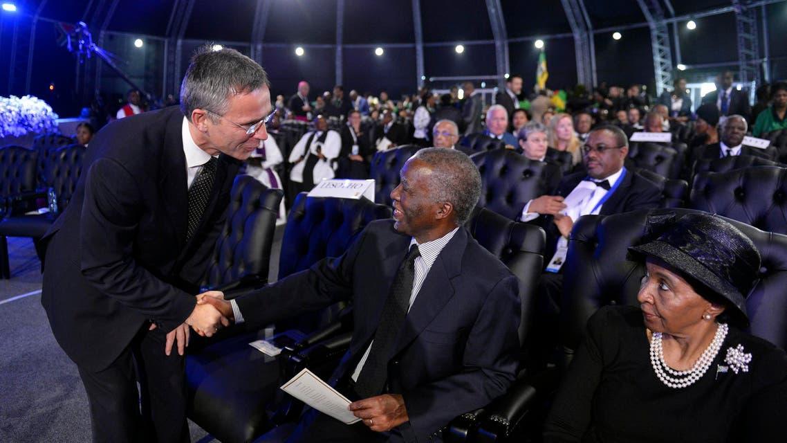 Dignitaries, celebrities bid final farewell to Mandela