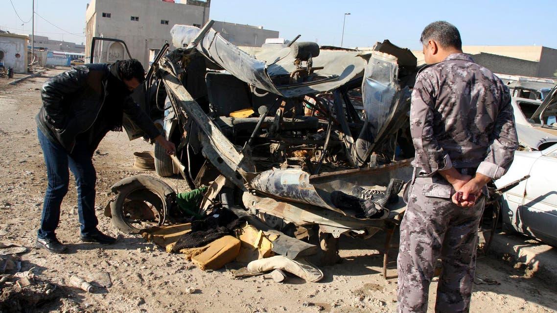 جانب من تفجيرات العراق