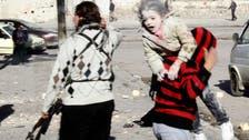 Aleppo 'barrel bomb' attack kills 28 children