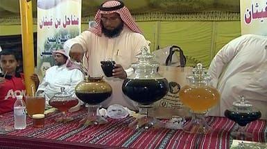 محافظة العرضيات السعودية تتباهى بعسلها في مهرجان خاص