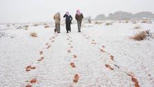 Freezing temperatures recorded in Saudi Arabia