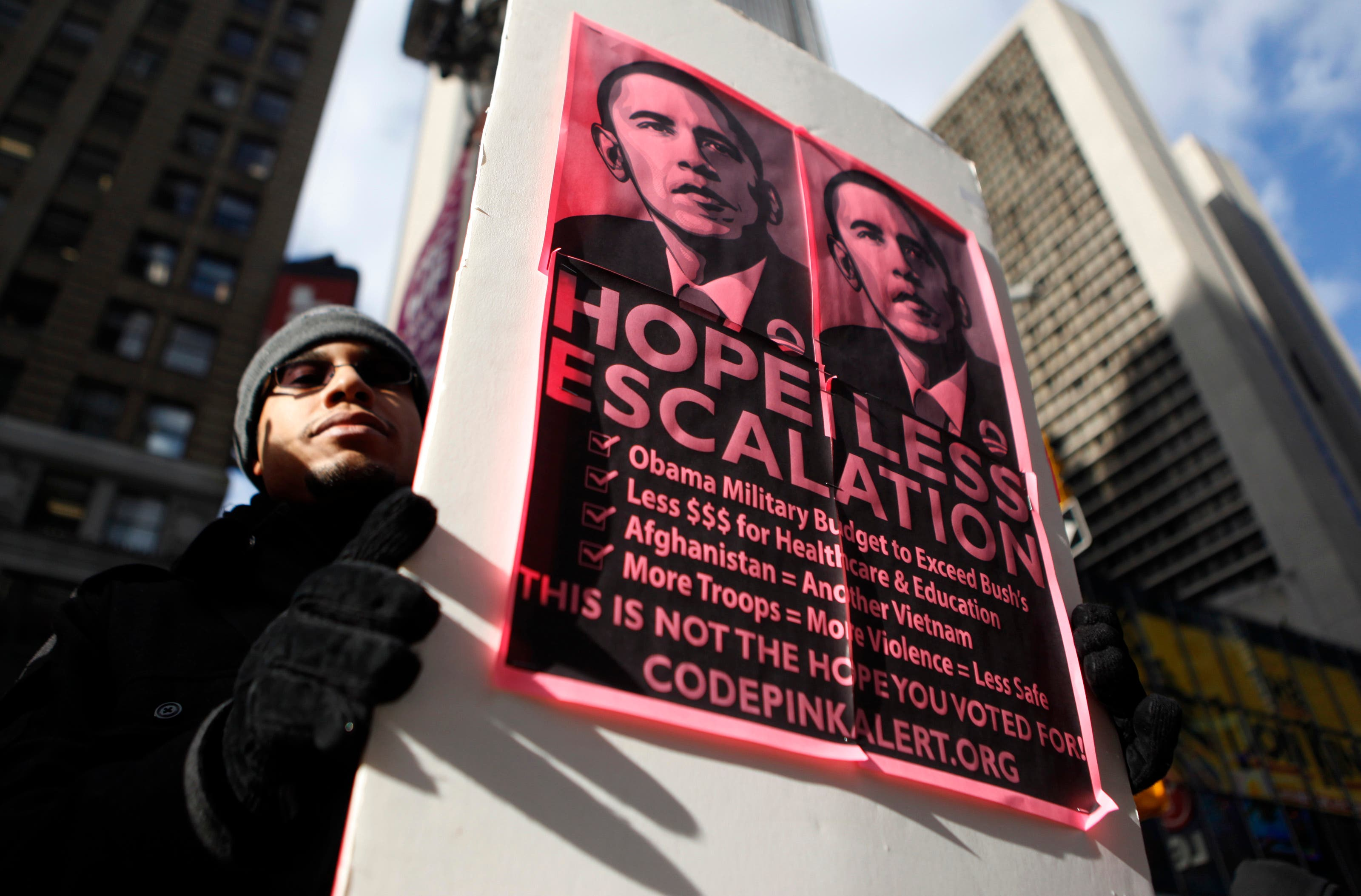 The award attracted protests in Oslo at the time Obama accepted the award. (File photo: Reuters)