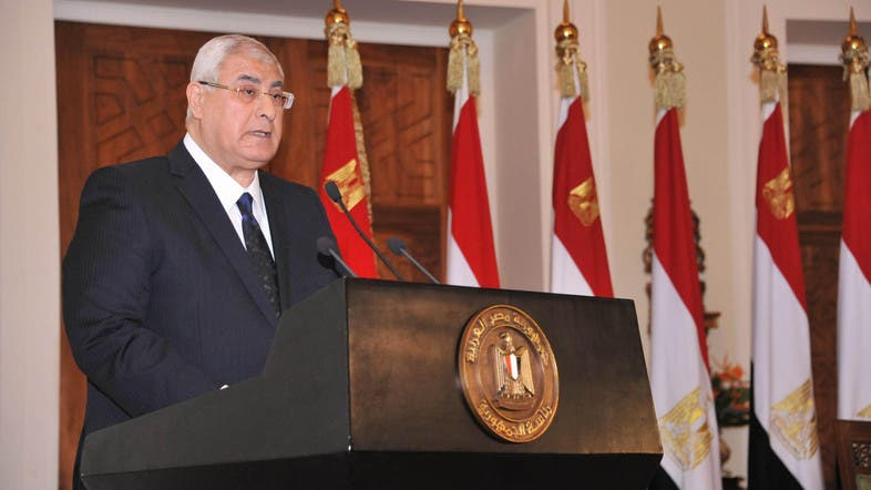 8. Egypt President Adly Mansour (Reuters)