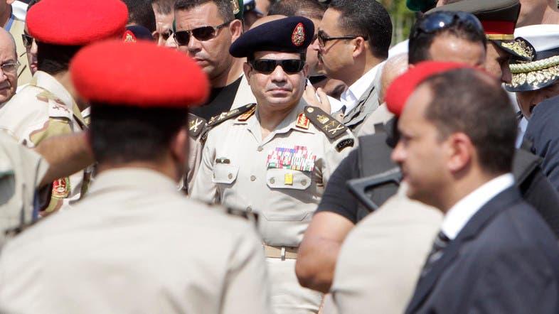 5. Egyptian army chief Abdel Fattah al-Sisi (Reuters)