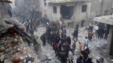 Deadly air strikes hit Syria's Aleppo