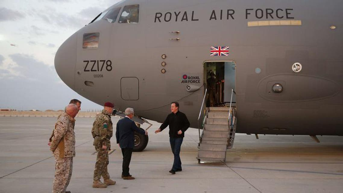 Afghanistan: a Christmas visit from Cameron