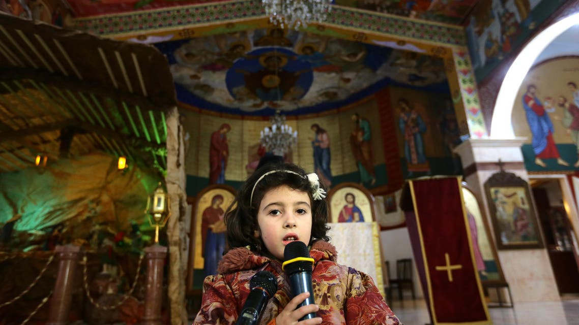 Christians of Maalula pray for Syria