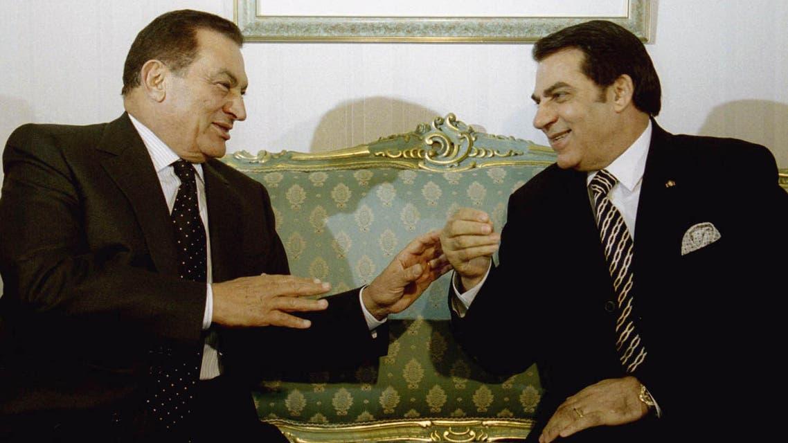 ben ali mubarak