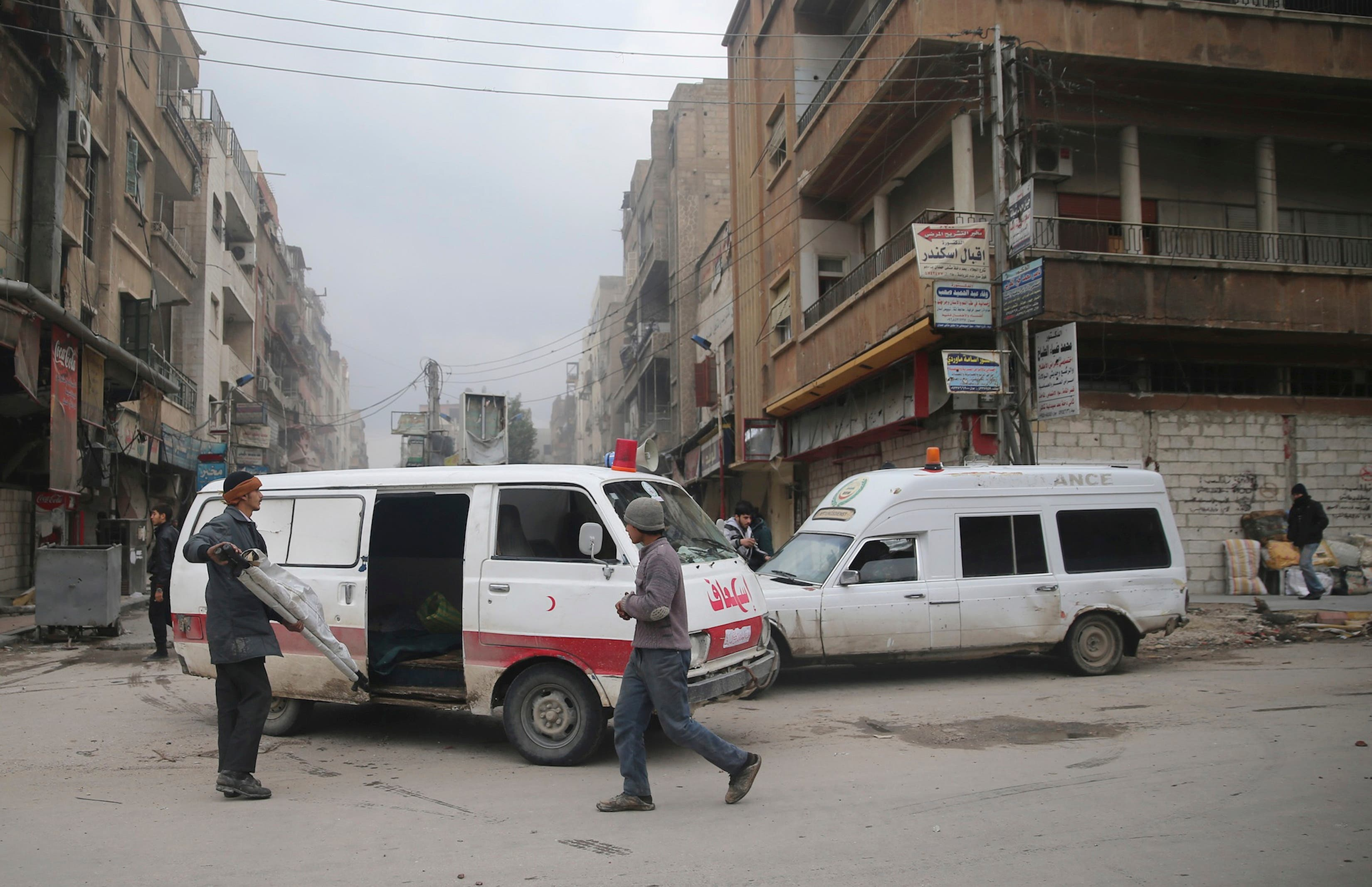 syria ambulance reuters