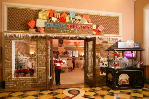 Atlantis Christmas Shop Dubai. (Photo courtesy: Atlantis)