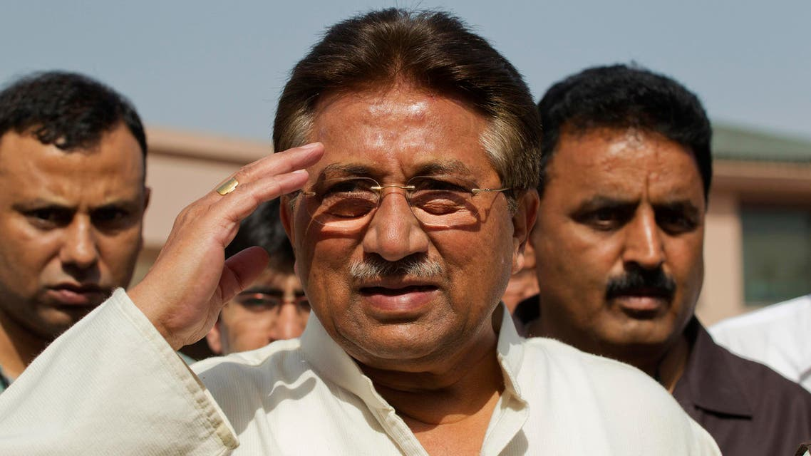 musharraf reuters