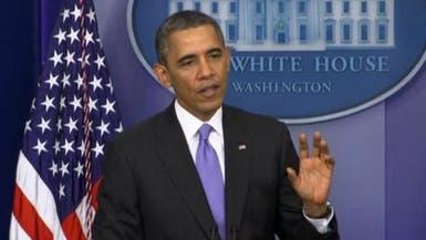 أوباما: لا حاجة لفرض عقوبات جديدة على إيران حالياً