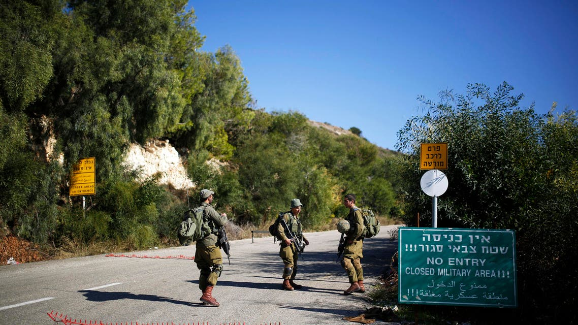 file reuter israel soldier