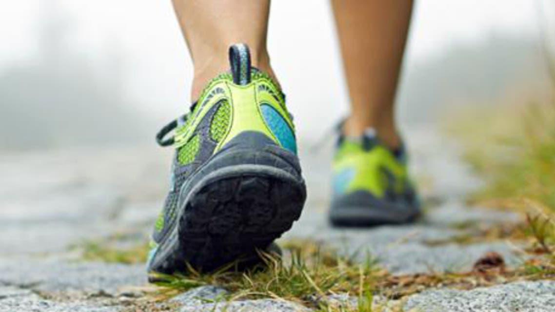 مشي رياضة ركض
