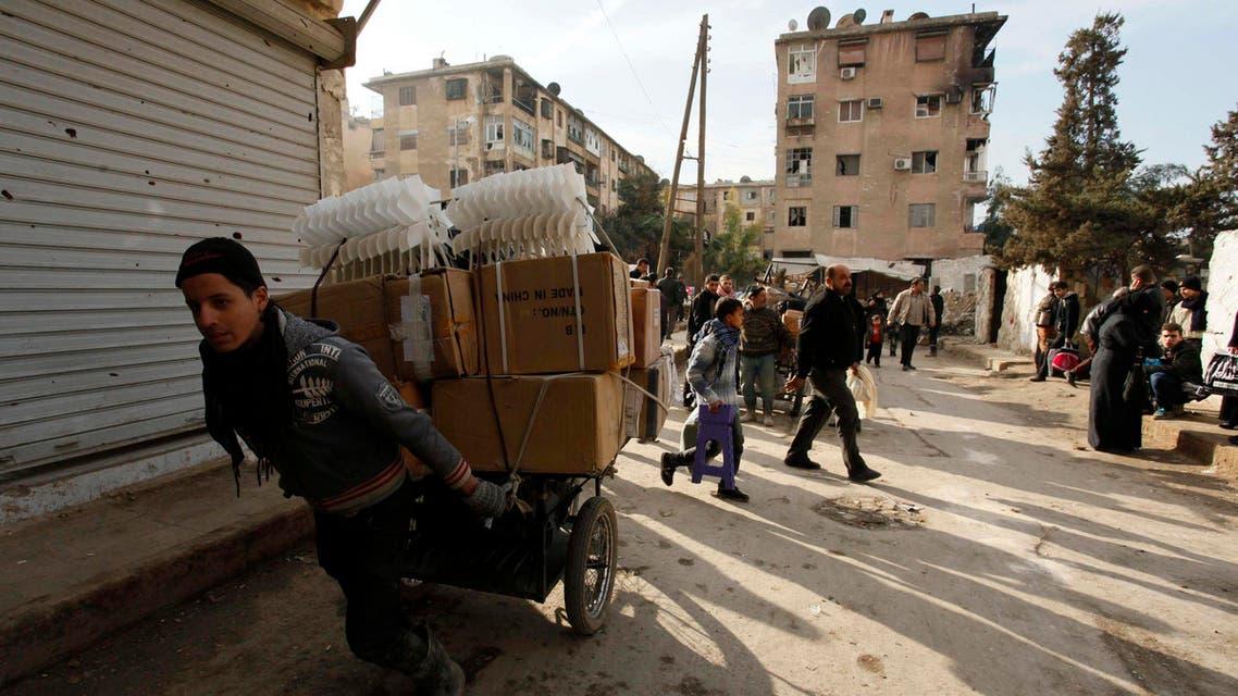 السوريوون في حلب