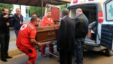 Body of British doctor who died in Syria taken to Beirut