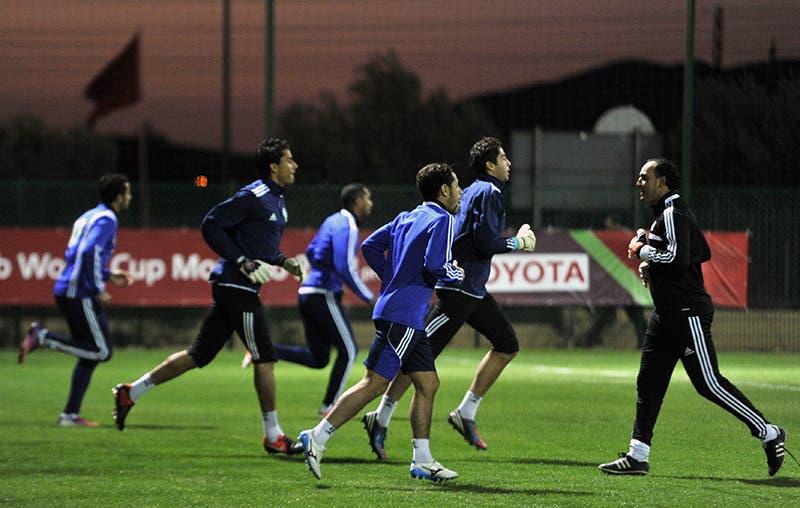 لاعبو الرجاء البيضاوي يتدربون عشية مواجهة بايرن ميونخ بنهائي كأس العالم للأندية