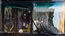 Bomb explodes on Israeli bus, no one hurt