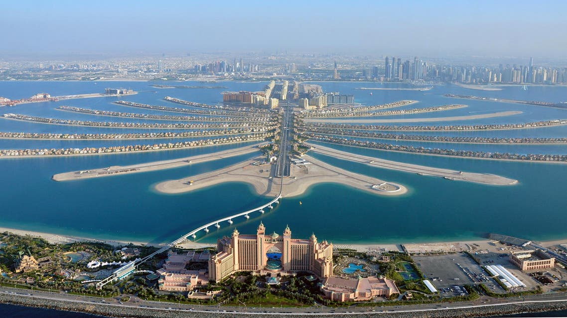 An aerial view of The Palm Jumeirah in Dubai, an Arabtec-developed project. (File photo: Reuters)