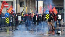 Police clash with demonstrators in Istanbul