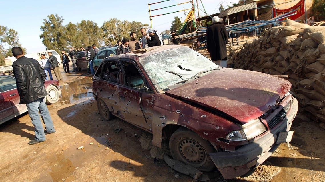 Benghazi attack Dec. 22, 2013. (AFP)