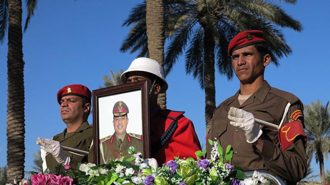 تشييع ضابط عراقي قتل