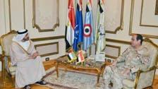 اماراتی وزیر خارجہ کی جنرل عبدالفتاح السیسی سے ملاقات