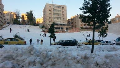 العاصفة الثلجية تشعل أسعار المواد الأساسية في الأردن