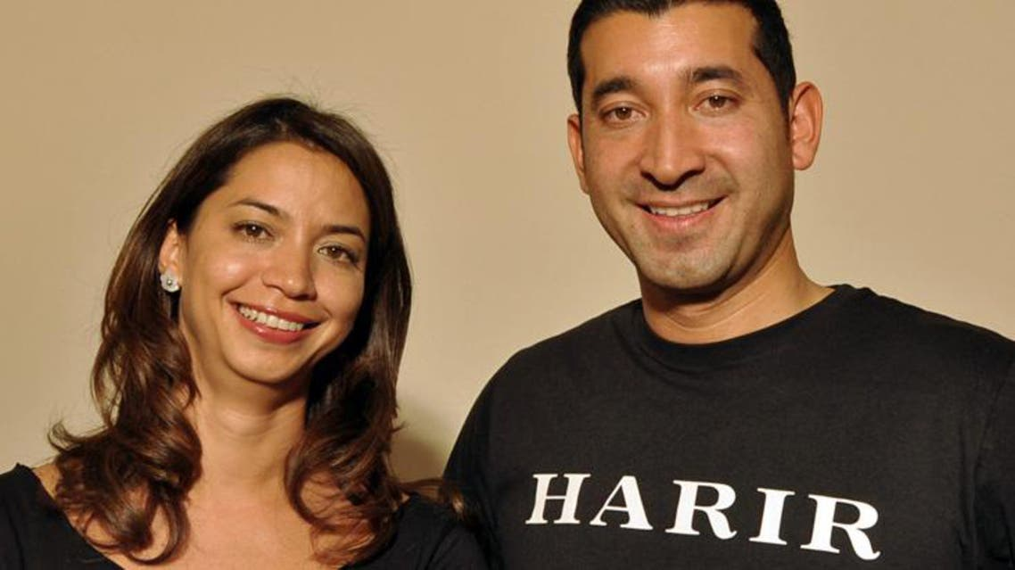 Hanae and Mousa Ayoubi are the co-founders of online shopping club harir.com. (Image courtesy: harir.com)