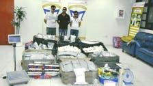 دبئی پولیس نے 13' میں منشیات اسمگلنگ کی بڑی کوشش ناکام بنائی