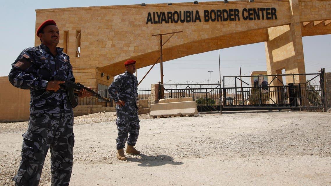Iraq-Syria border (Reuters)
