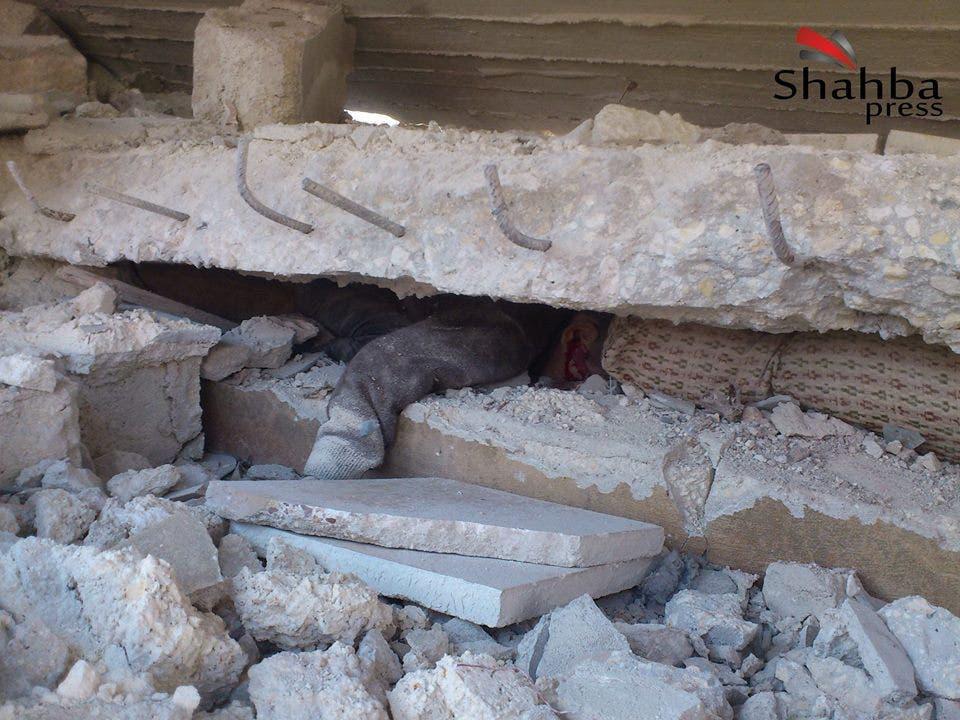 ضحية براميل متفجرة في حلب